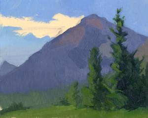 Color Study, East Glacier, MT